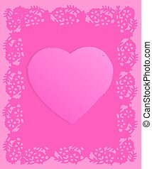 Pink Grunge Valentine