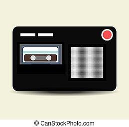 Journalism design. - Digital journalism design, vector...
