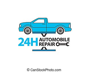 Car service,Auto mechanic working in garage, Repair service
