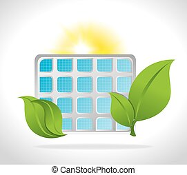 Green energy design. - Green energy design, vector...