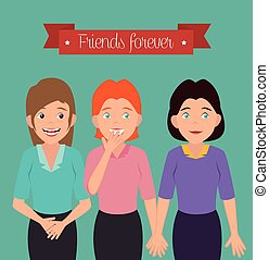 Joyful people design - Joyful people design, vector...