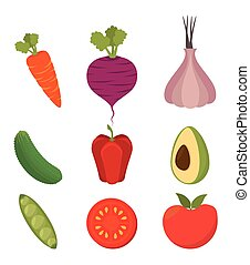 Healthy food design - Healthy food design, vector...