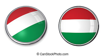 Banner Button Hungary