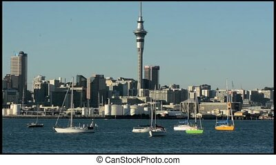 Auckland downtown skyline.Auckland has been rated one of the...