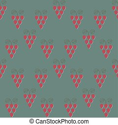 Seamless Simplistic Vintage Background - Geometric Vintage...