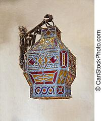 Antique arabic lantern
