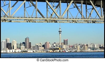 Auckland Harbor Bridge New Zealand - Auckland Harbor Bridge...