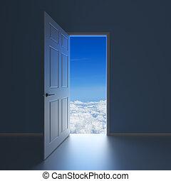 A doorway to Heaven