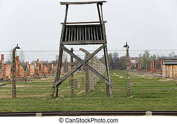 Auschwitz II Birkenau. Poland. The biggest nazi...