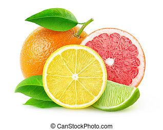 Fresh citrus fruits - Citrus fruits (lemon, lime,...
