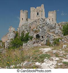 Rocca Calascio in the province of LAquila in Abruzzo,...