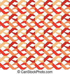Seamless vector retro pattern
