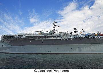 USS Midway - A floating museum in San Diego bay.