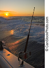 Fishing off the coast of San Carlos in the Gulf of...