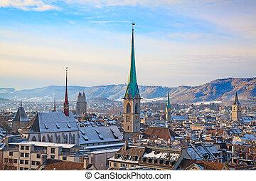 Inverno, Zurique