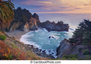 McWay Falls - McWay Falls at Julia Pfeiffer Burns State Park...