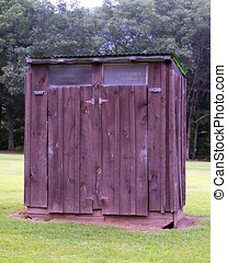 Campground Privy - A privy in Nickerson Park Campground...