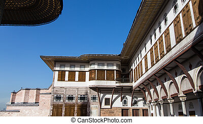 Topkapi Palace - Buildings in Topkapi Palace, Istanbul City,...