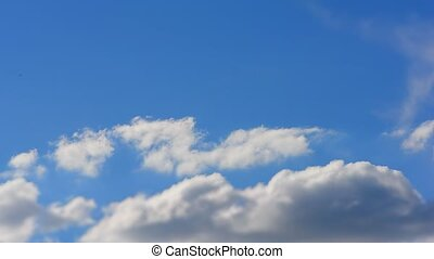 Beautiful cloudscape with clouds - Beautiful cloudscape with...