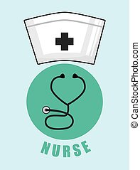 Health care design - Health care digital design, vector...
