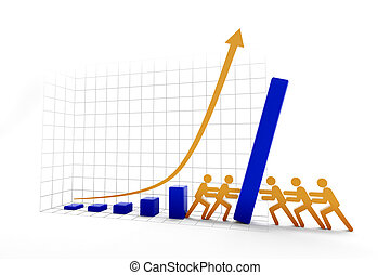 Rising vs falling trend - Fighting for the rise or fall of a...