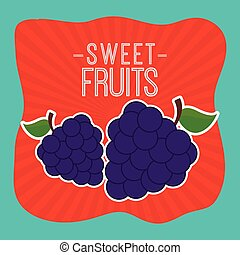 sweet fruits
