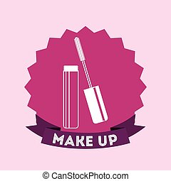 make up design, vector illustration eps10 graphic