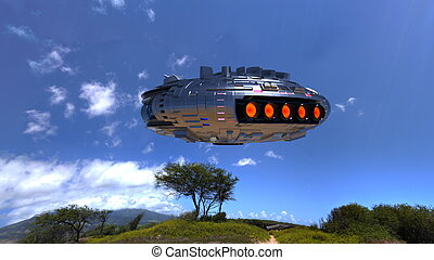 UFO - Image of Unidentified Flying Object