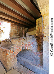Castle Fortress (Castelvecchio) - he museum circulation path...