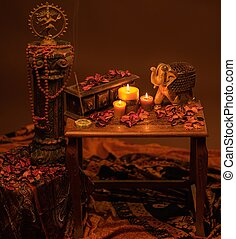 Indian style still life