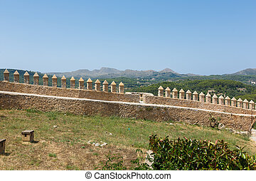 Fortress Sanctuary de Sant Salvador in Mallorca - Fortress...