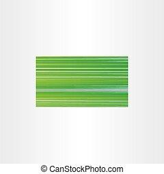 green business card background gradient template