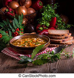 polish beef tripe soup