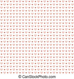 seamless hearts background - seamless background with hearts...