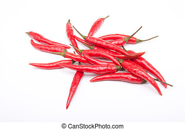 red hot chilli peppers - A group of red hot chilli peppers...