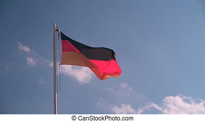 Request Germany flag in slow motion