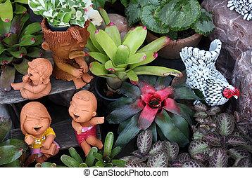 ASIA THAILAND BANGKOK - the Flowermarket on the Thewet...