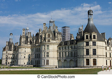 Chateau de Chambord - Chambord castle in France