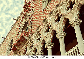 Buildings part of San Marco square in Venice, Italy 1 -...