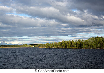 lake Inari, Lapland, Finland - Lake Inari is the largest...