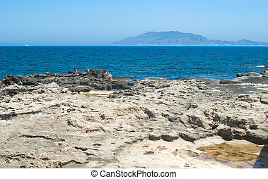 View from Favignana islandSicily, Italy - Beatiful view from...