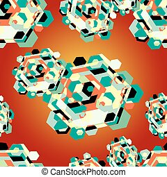 color diamond pattern background
