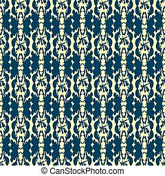 abstract vector seamless pattern in retro style background