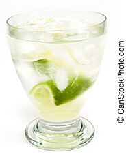Cocktails Collection - Gimlet - Ingredients: 2 oz gin 1/2 oz...