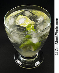 Cocktails Collection - Gimlet - Ingredients: 2 oz gin 12 oz...