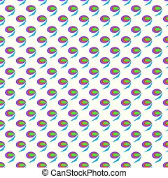 Abstract seamless pattern on a white background vector illustration