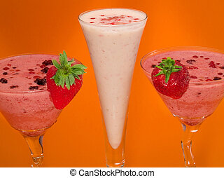 Cocktails Collection - Berry Smoothies - Ingredients: 150g...