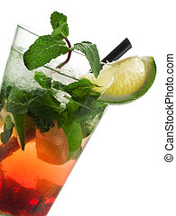 Cocktails Collection - Strawberry Mojito - Ingredients: 6...