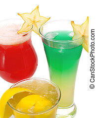 Cocktails Collection - Starfruit Cocktail, Alien Sky and...