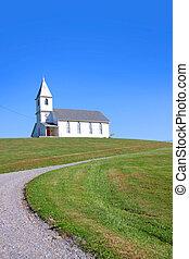 Church - Small church in the scenic landscape